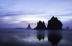 coast oregon Arkivfoton