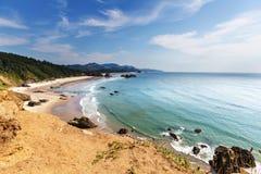 coast oregon Royaltyfria Foton