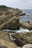 coast oregon Arkivbild