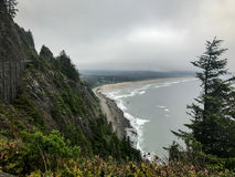 coast oregon Royaltyfri Bild