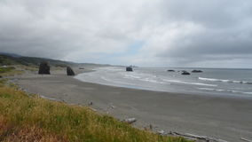 coast oregon Royaltyfri Foto
