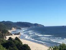 The Coast of Oregon Stock Photo