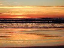 The coast of Oropesa del Mar on the Costa Azahar. Spain Stock Photos