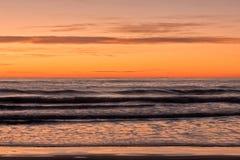 The coast of Oropesa del Mar on the Costa Azahar. Spain Stock Photo