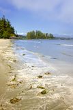 Coast of Pacific ocean, Vancouver Island, Canada Stock Photos