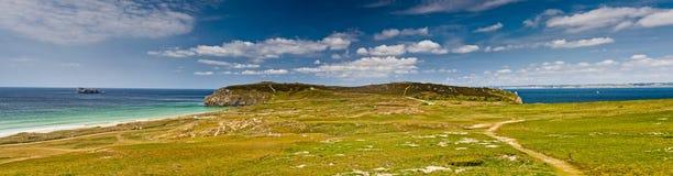 Coast panorama Stock Image
