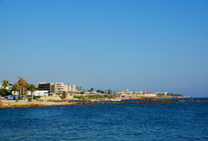 Coast of Paphos Stock Photo