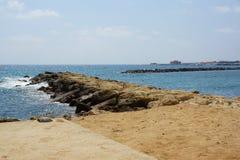 Coast of Paphos Stock Image