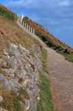 Coast Path Royalty Free Stock Photography