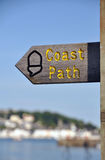 Coast Path sign Stock Image