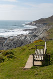 Coast Path Woolacombe Devon Royalty Free Stock Photos