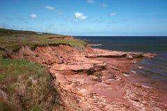 Coast of PEI Royalty Free Stock Photography