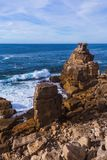 Coast in Peniche - Portugal. Travel background royalty free stock images
