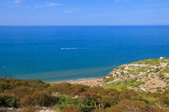 Coast of Peschici  Royalty Free Stock Photography
