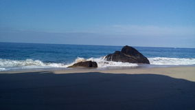 Coast. Photo take in the coast of Todos Santos stock photography