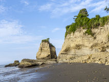 Coast at playa de sua in atacamas, Stock Images