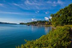 Coast. Port Antonio coast in Jamaica Stock Image