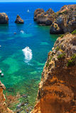 Coast at Portugal Stock Image