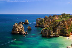 Coast of Portugal Royalty Free Stock Photos