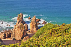 Coast of Portugal, Cabo da Roca Royalty Free Stock Images