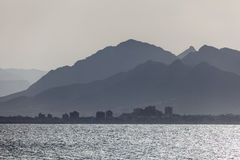 Coast at Puerto de Mazarron, Spain Stock Image