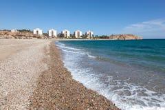Coast in Puerto de Mazarron, Spain Royalty Free Stock Image