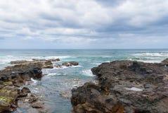 Coast of Punta del Hidalgo. Tenerife. Spain Stock Photo
