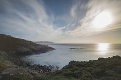 Coast in Punta Nariga Malpica, La coruna - Spain. Coast of Punta Nariga Malpica, La Coruna - Spain Stock Photo