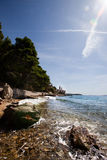 Coast Rab Croatia Royalty Free Stock Photo