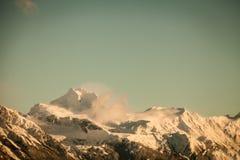 Coast Range in winter Royalty Free Stock Photography