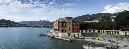 Coast of Rapallo,Italy Stock Photography