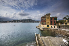 Coast of Rapallo Royalty Free Stock Image