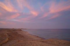 Coast of Red sea,Egypt Royalty Free Stock Photo
