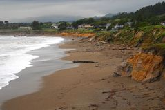Coast Resorts Royalty Free Stock Photo