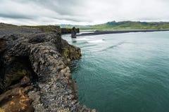 Coast of Reynisfjara Royalty Free Stock Photography