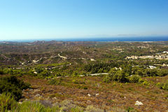 Coast of Rhodes Royalty Free Stock Photo