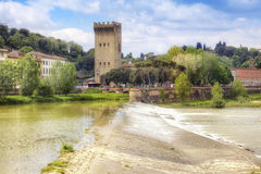 Coast the rivers Arno Royalty Free Stock Image