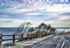 Coast road Royalty Free Stock Image
