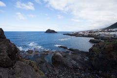 Coast. Road trip on Tenerife. stock image