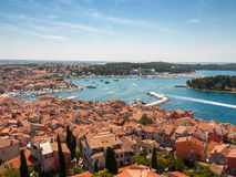 Coast, Rovinj, Croatia Royalty Free Stock Photos