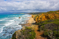 coast söder Royaltyfria Bilder