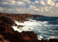 Coast of S.Antioco. Island in Sardinia Royalty Free Stock Photos