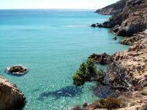 Coast of S. Margherita di Pula Stock Image