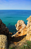 Coast of Sagres Stock Photography