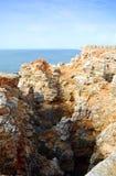 Coast of Sagres Royalty Free Stock Photos