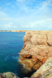 Coast of Sagres Royalty Free Stock Photos