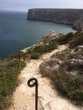 Coast of Sagres royalty free stock photo