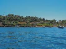 The coast of Saint-Tropez, France. Stock Photo