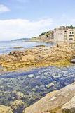 Coast of Saint-Tropez, French Riviera Royalty Free Stock Photos