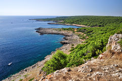 Coast in Salento, Apulia. Royalty Free Stock Image